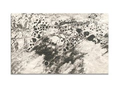 Ash Ceniza #11, (black and white, ashes, abstract expressionist, charcoal)