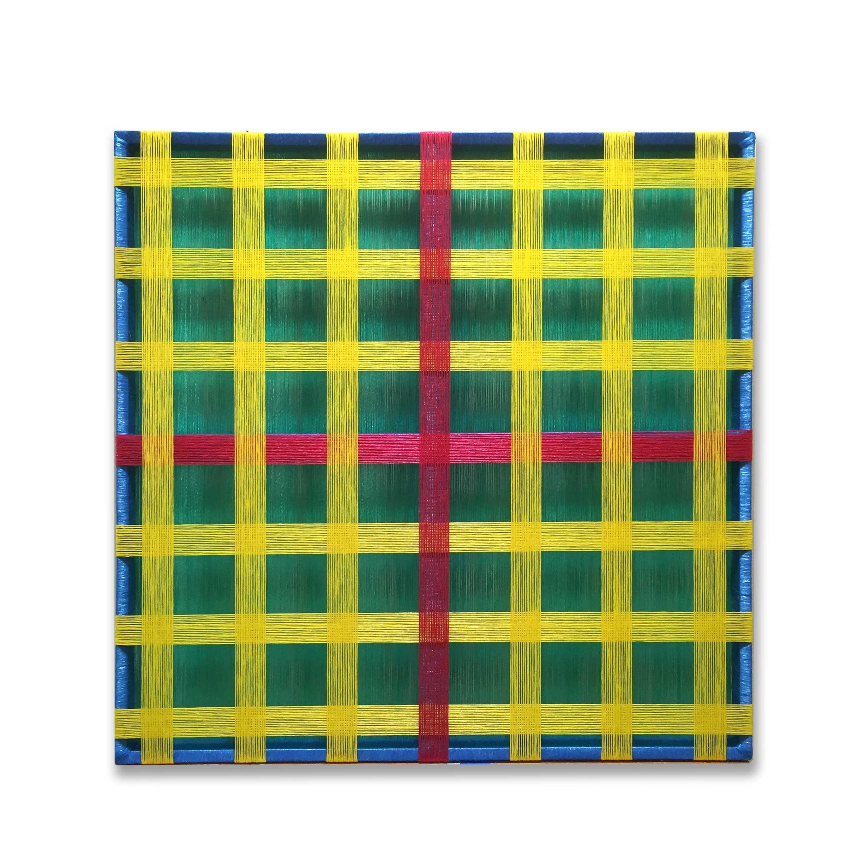 Untitled Pita Maguey (nylon art, minimalist, latin america, textile art)