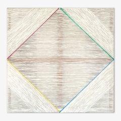 """Pita Plastic Diamond RGBY"", (natural fiber, minimalist, latin america, textile)"