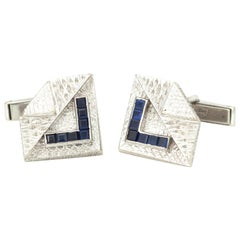 Kutchinsky 18 Karat Gold Cufflinks, London, 1965