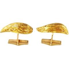Kutchinsky, London, 18 Karat Gold Cuff Links