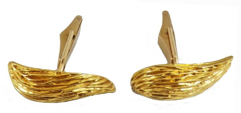 Kutchinsky, London, 18 Karat Gold Cufflinks For Sale 1
