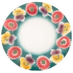 Kuznetsov Ceramic Plate, Russia, Early 20th Century