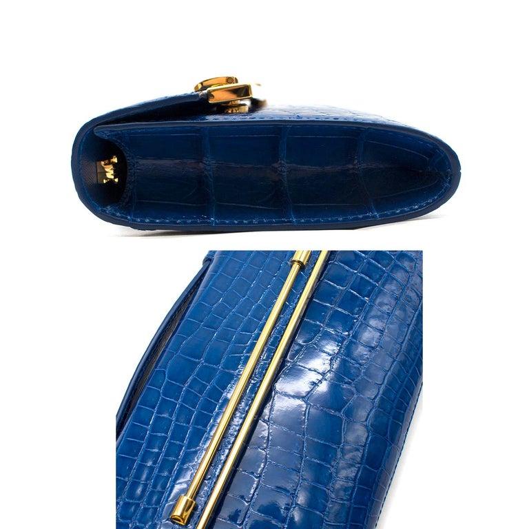 Women's or Men's Kwanpen Tanzanite Raffles 1819 Clutch - Current Season For Sale