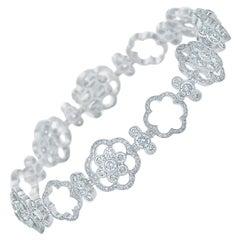 Kwiat Oasis Diamond Bracelet in 18 Karat White Gold