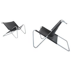 Kwok Hoi Chan Pair of Sz15 Lounge Chairs for 't Spectrum, the Netherlands, 1973