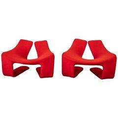 "Kwok Hoi Chan ""Zen"" Lounge Chairs"