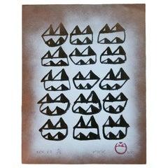 """Kwok Mang Ho """"Frog King"""" Print, circa 1983"""