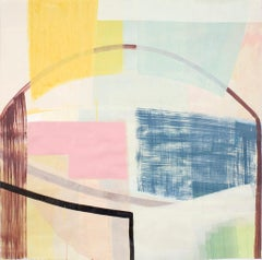"""Ky Anderson """"Past 18.1"""" Abstract Painting on Paper"""