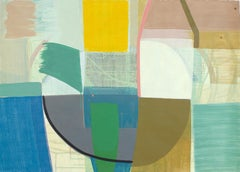 """Ky Anderson """"Taken Apart"""" - Abstract Painting on Paper"""