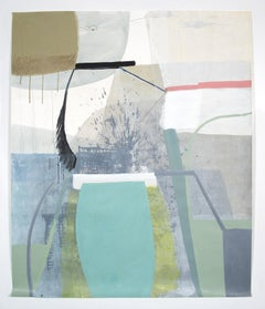"""Ky Anderson """"The Unnatural"""" -- Abstract Painting on Paper"""