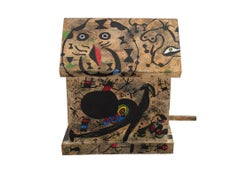"""Miro, Miro, On the Wall... Who's the Fairest of Them All?..."" Painted Wood"