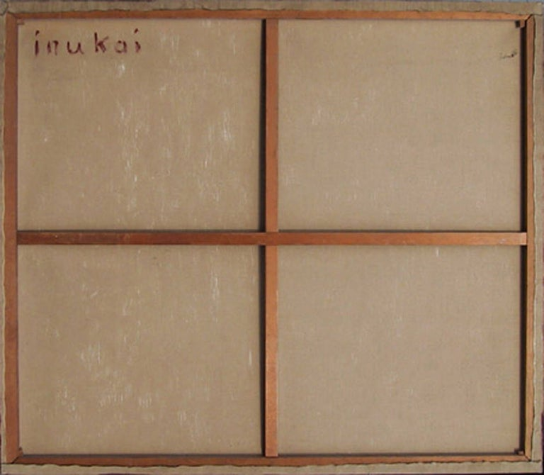 Target, Large Geometric Painting by Kyohei Inukai 1968 For Sale 1