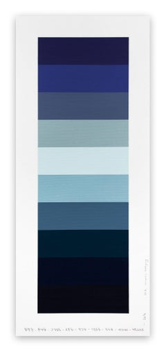 Emotional color chart 033 (Abstract painting)