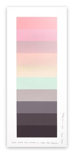 Emotional color chart 093 (Abstract painting)