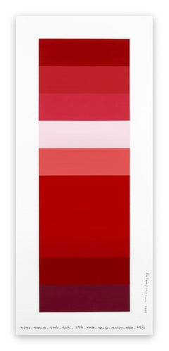 Emotional color chart 147 (Abstract painting)