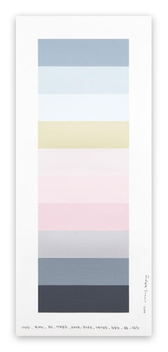 Emotional color chart 148 (Abstract painting)