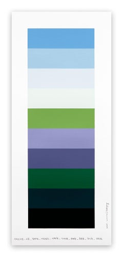 Emotional color chart 149 (Abstract painting)