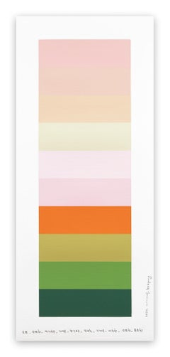 Emotional color chart 150 (Abstract painting)