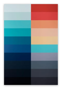 Emotional Color Field 2 (Abstract painting)