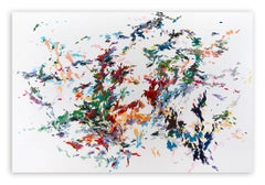 Record of undefined colors 22 (Abstract painting)