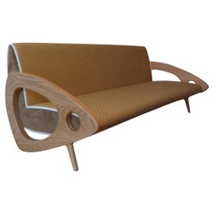 Kyoto, Bespoke Sofa Based on Japanese Tatami Mat Style with Custom Fabric