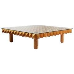 """Kyoto"" by Gianfranco Frattini Italian Design 1970s Coffee Table"