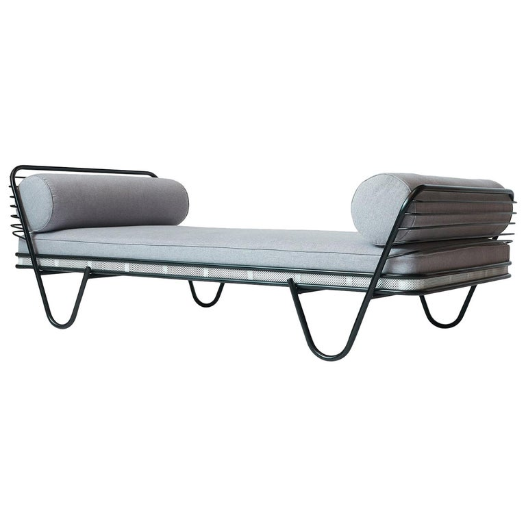 Mathieu Matégot Kyoto daybed, 1950, offered by Almond & Co.