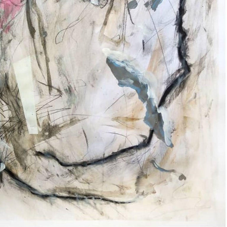 Kyte Tatt - Original Painting Signed Dimensions : 59.4 × 84.1 cm Medium : Acrylic, Graphite, Charcoal, Soft pastel, Coffee, on Paper   Kyte Tatt is an American-born mixed media artist based in Berlin Germany. Kyte has been honing his skills as an