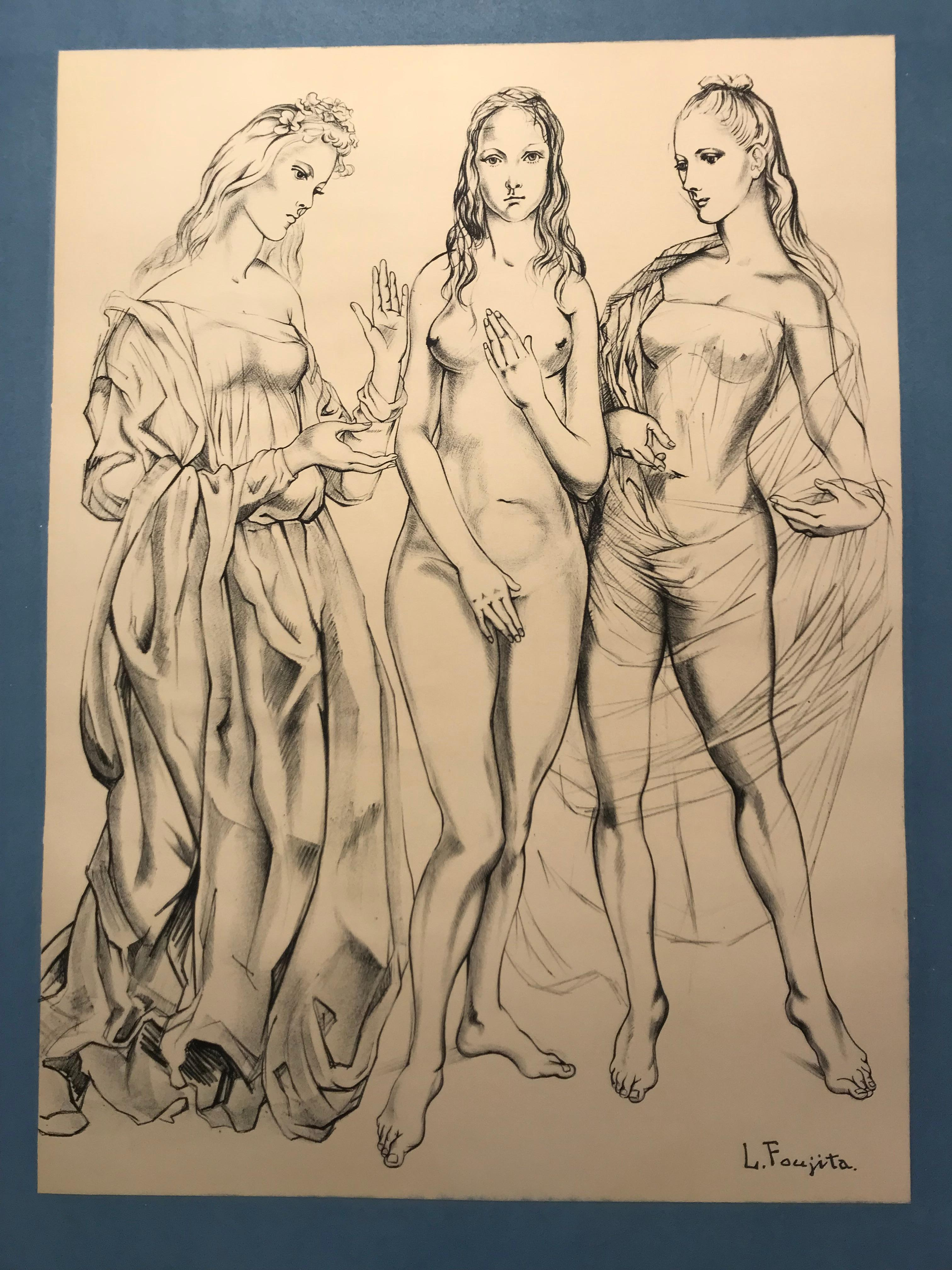 Poster edition of The Three Graces (before text)