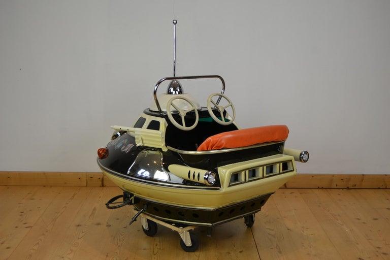 L' Autopède Ufo Carnival Ride Seat, Space Age, Belgium, Late 1950s 5