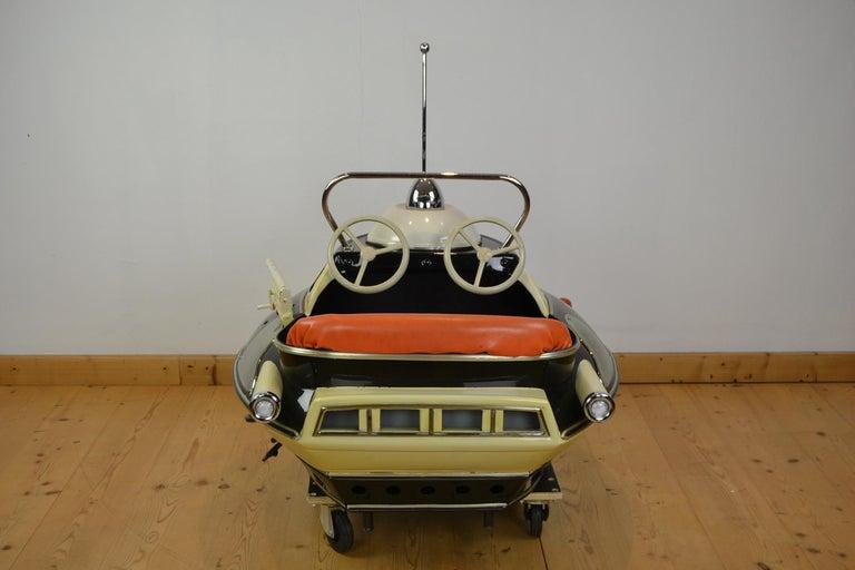 L' Autopède Ufo Carnival Ride Seat, Space Age, Belgium, Late 1950s 6