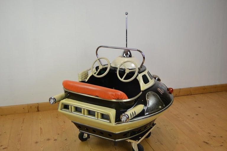 L' Autopède Ufo Carnival Ride Seat, Space Age, Belgium, Late 1950s 10