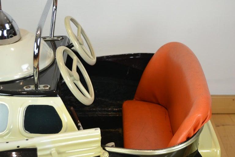 L' Autopède Ufo Carnival Ride Seat, Space Age, Belgium, Late 1950s 3
