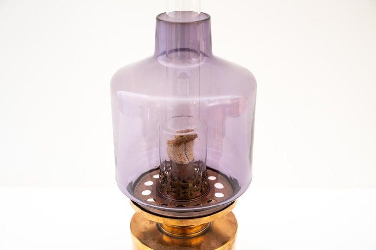 Brass L47 Oil Lamp by Hans-Agne Jakobsson For Sale