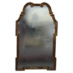 La Barge Style Gold Scroll Hollywood Regency Mirror