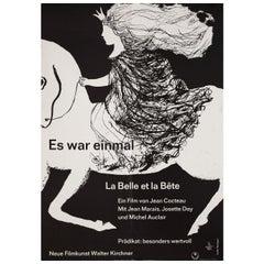 La belle et la bete R1960 German A1 Film Poster