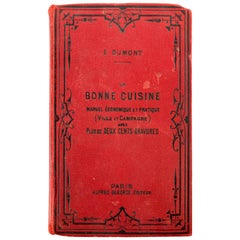 La Bonne Cuisine Francaise, Collectible French Cook Book