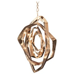 La Cage Chandelier 'Oval' by Barlas Baylar