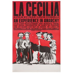 La Cecilia 1975 British Double Crown Film Poster