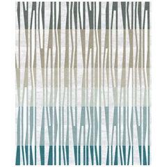 La Chapelle De Jour - Modern Luxury Hand Knotted Wool Silk Rug