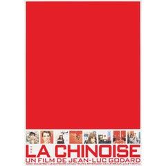La Chinoise R1990s Japanese B1 Film Poster