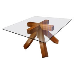 """La Corte"" Dining Table by Mario Bellini for Cassina, Italy, 1976"