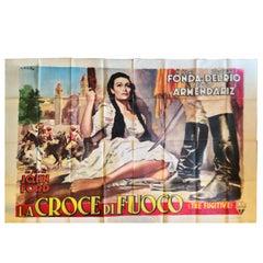 La Croce Fuoco Henry Fonda Ciriello The Fugitive Del Rio Manifest Poster Film