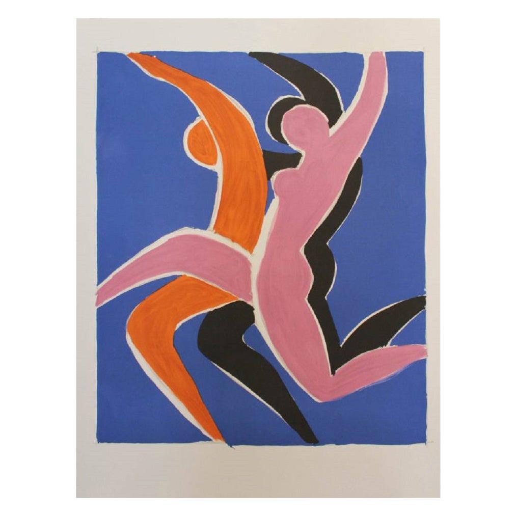 La Dance Limited Edition, Villemot Original Vintage Poster