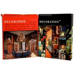 La Decoration by Pierre Levallois, a Two Volume Set in English, First Edition