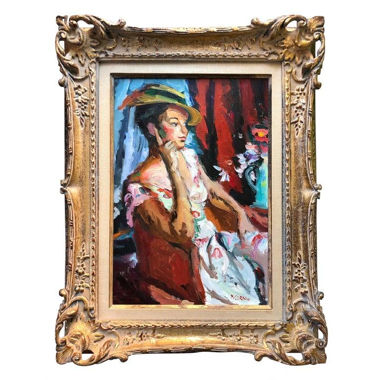 """""""La Demoiselle"""" by Pierre Cornu For Sale"""