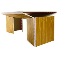 La Desk Parisienne with Exaggerated Bubblegum Hinges by William Earle