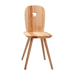 La-Dina Set of 2 Ashwood Chairs by Luca Nichetto