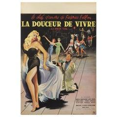 """""""La Dolce VITA or La Douceur De Vivre"""" Film Poster"""